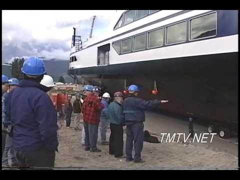 MV Osprey 2000 Ferry Launch Kootenay Lake - TMTV Video
