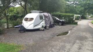 Pod goes to Hill of Oaks Caravan Park, Lake Windermere
