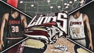 NBA 2K17 Las Vegas Lions MyLeague Ep. 1 - JERSEY AND COURT DESIGN!!! | EXPANSION!