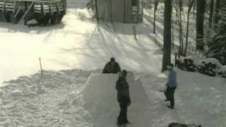 2008 Igloo Bulding Time-lapse