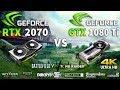 RTX 2070 OC vs GTX 1080 Ti Test in 9 Games
