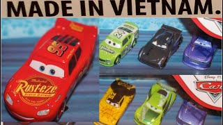 Gambar cover Mattel Disney Cars Now Also Made In Vietnam - Breaking News (Lightning McQueen, Next-Gen Leak Less)
