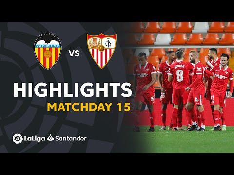Valencia Sevilla Goals And Highlights