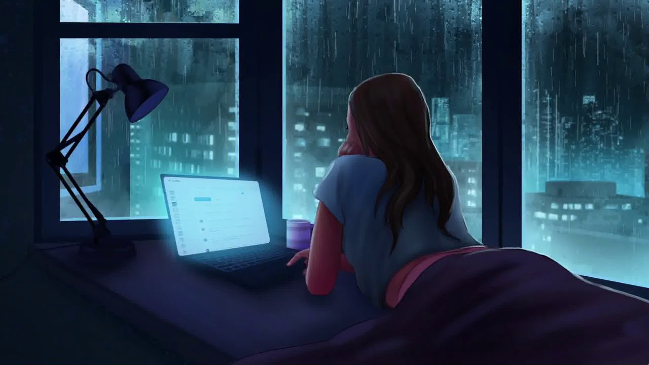 Download Late Night Melancholy - (EA7) CHILL Lofi Piano Beat   Study Session 📚 (1 hour Loop)