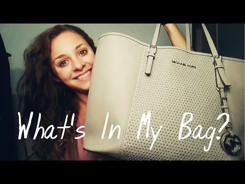 What's In My Bag | Special Guests | Hanna Waldon
