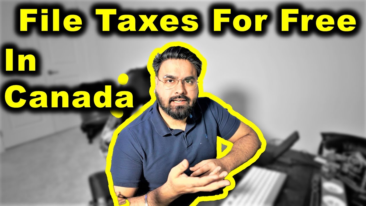 How To File Taxes In Canada For FREE 😲 | Canada Couple