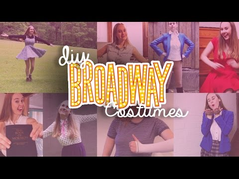 8 More DIY Broadway Musical Inspired Costumes | Costumes With Creatie
