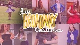 8 More DIY Broadway Musical Inspired Costumes   Costumes With Creatie
