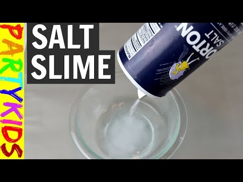 How to make slime with clear glue and salt only