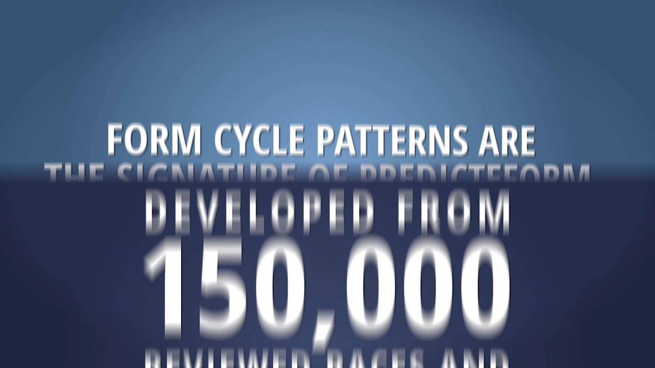 Predicteform com Introductory video ad @ Predicteform com