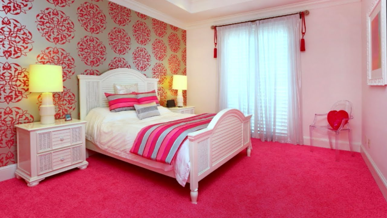 pink bedroom ideas 20 pink bedroom ideas youtube 5367
