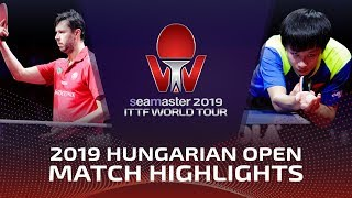 Lin Gaoyuan vs Vladimir Samsonov   2019 ITTF World Tour Hungarian Open Highlights (1/4)