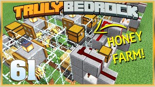 Truly Bedrock S1E61 Honey Farm and More Bugs | Minecraft Bedrock Edition 1.14 SMP, MCPE, MCBE