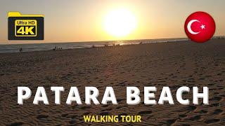 Patara Plajı Yürüyüş Turu 2020, 4K. Kaş, Antalya. #VisitTurkey #WalkTurkey