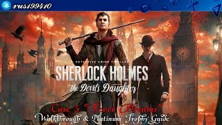 "Sherlock Holmes: The Devil's Daughter - Case 5 ""Fever Dreams"" (Platinum Trophy Guide) rus199410"