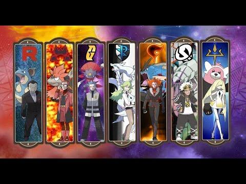 Pokemon All Villainous Team Boss Themes OST