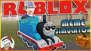 THOMAS THE DANK ENGINE VA À DENIS' HOUSE! (Simulateur de meme Roblox)