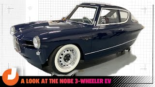 homepage tile video photo for A Look At The Nobe 3-Wheeler EV