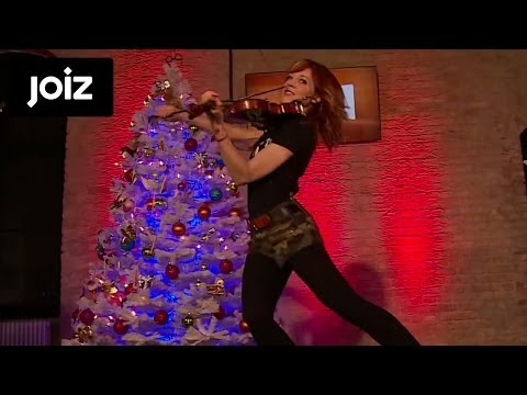Lindsey Stirling - Electric Daisy Violin (Live at joiz)