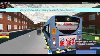 ROBLOX Ep3 | Route 65 | ADL E200 Dart | Fenderbury and District V1