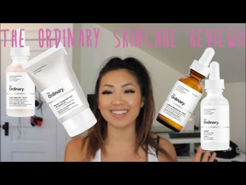 THE ORDINARY SKINCARE REVIEW + ROUTINE | CzzleBeauty