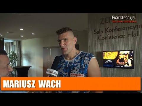 Mariusz Wach: Jeśli rywal będzie słabszy od Moliny to kibice będą zawiedzeni!