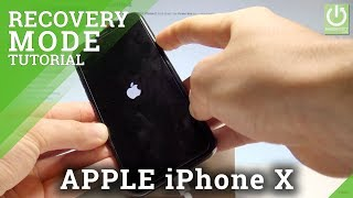 APPLE iPhone X RECOVERY MODE / Enter & Quit iOS Recovery