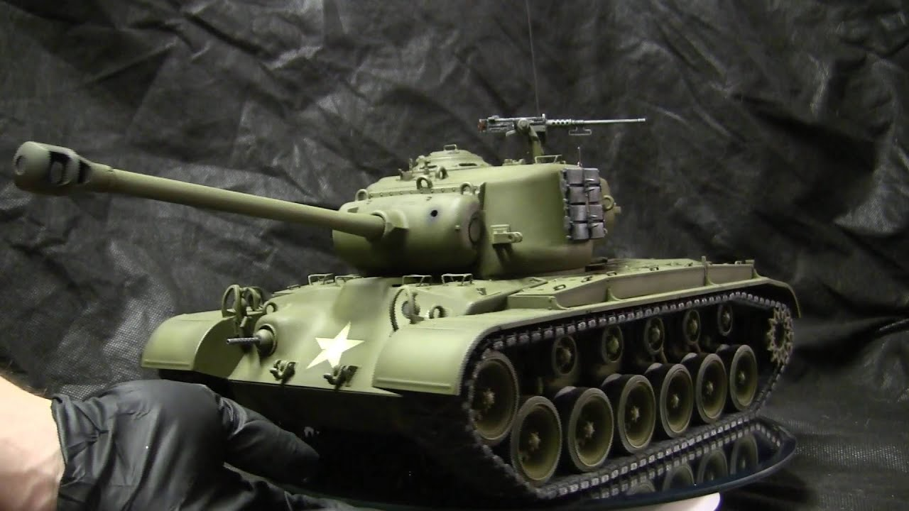 Rc F 0 60 >> 1/16th scale RC Tamiya M26 Pershing commission build showcase video - YouTube
