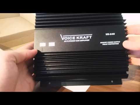 Zesilovač do auta VoiceKraft