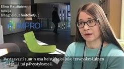 Elina Rautiainen: Tiivis päihde – ja mielenterveyspalvelukontakti edesauttaa raitistumista