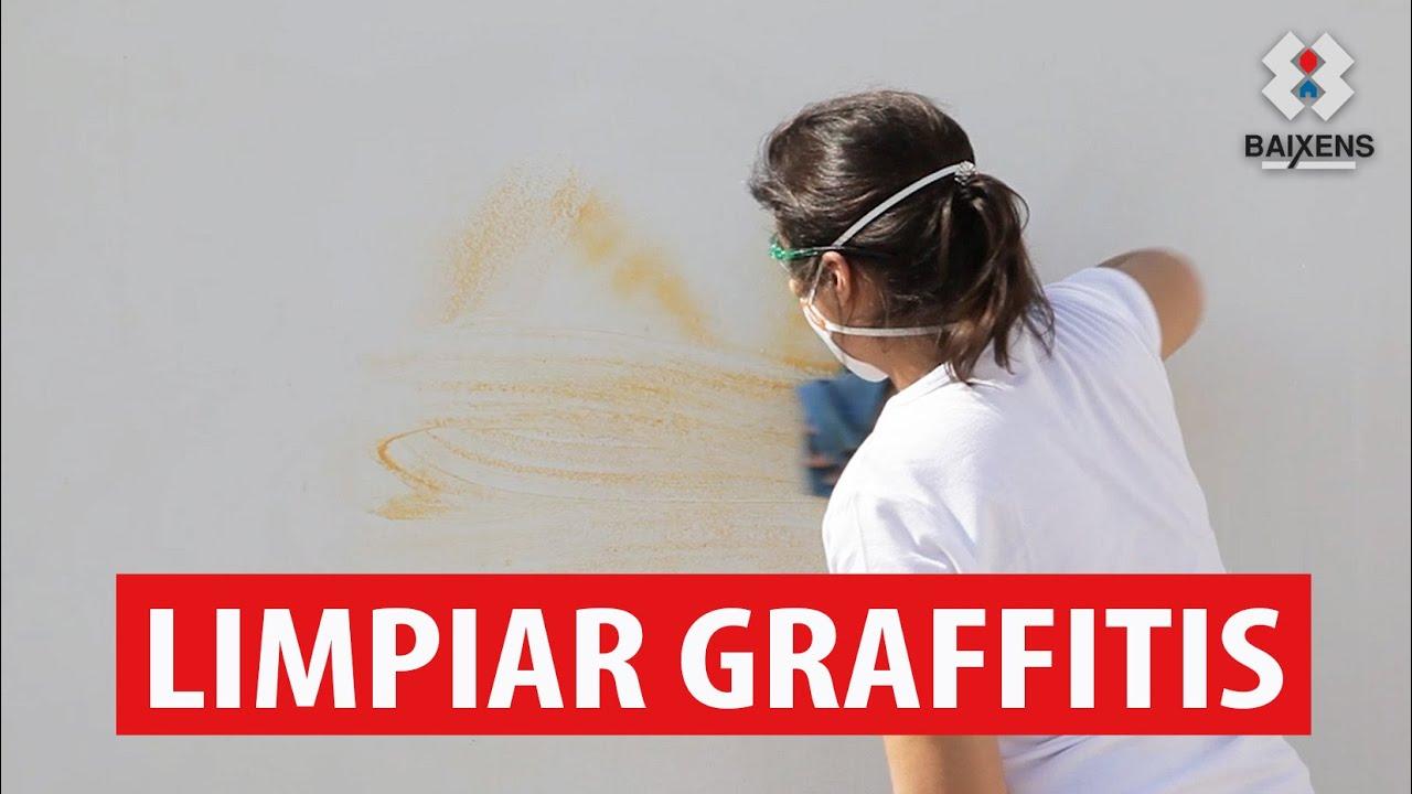 Limpiar graffitis baixens youtube - Como limpiar grafitis ...