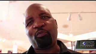 Reggie Johnson Thinks the Fight vs. Roy Jones Jr. is The Favorite of his Career