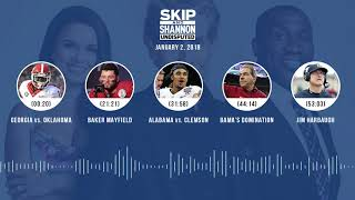 UNDISPUTED Audio Podcast (1.2.18) with Skip Bayless, Shannon Sharpe, Joy Taylor | UNDISPUTED thumbnail