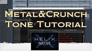 Helix Nativeで音作りしてみた(Metal & Crunch)