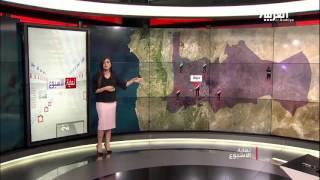 أين تتمركز المعارضة في سوريا؟