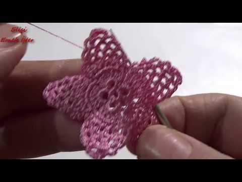 Tığ işi 3D Havlu Kenarı Modeli / Adım adım Tam Yapılışı