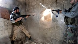 Repeat youtube video 18+ NEW -- War in Syria --- Syria in Blood 720p) HD