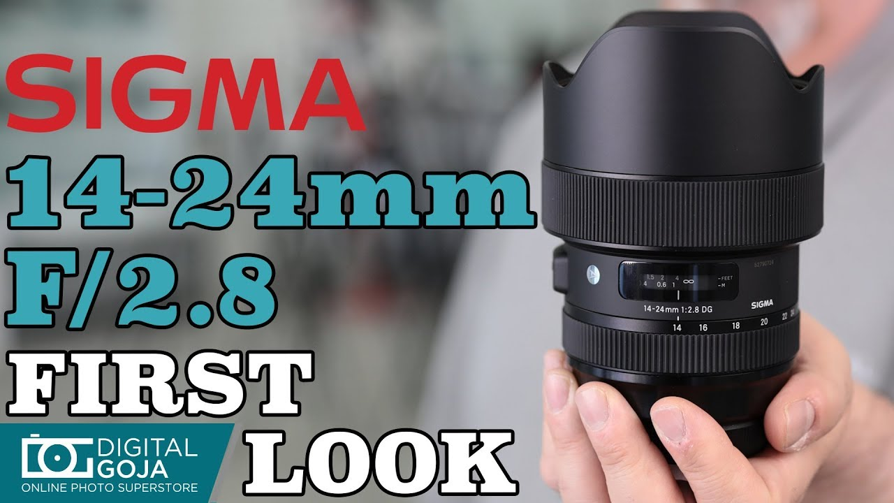 Sigma 14-24mm f/2 8 DG HSM Art Lens | Sigma Ultra Wide Angle Zoom Lens |  First Look