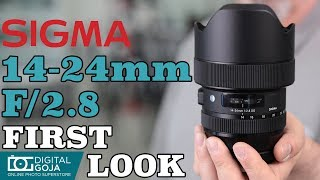 Sigma 14-24mm f/2.8 DG HSM Art Lens | Sigma Ultra Wide Angle Zoom Lens | First Look