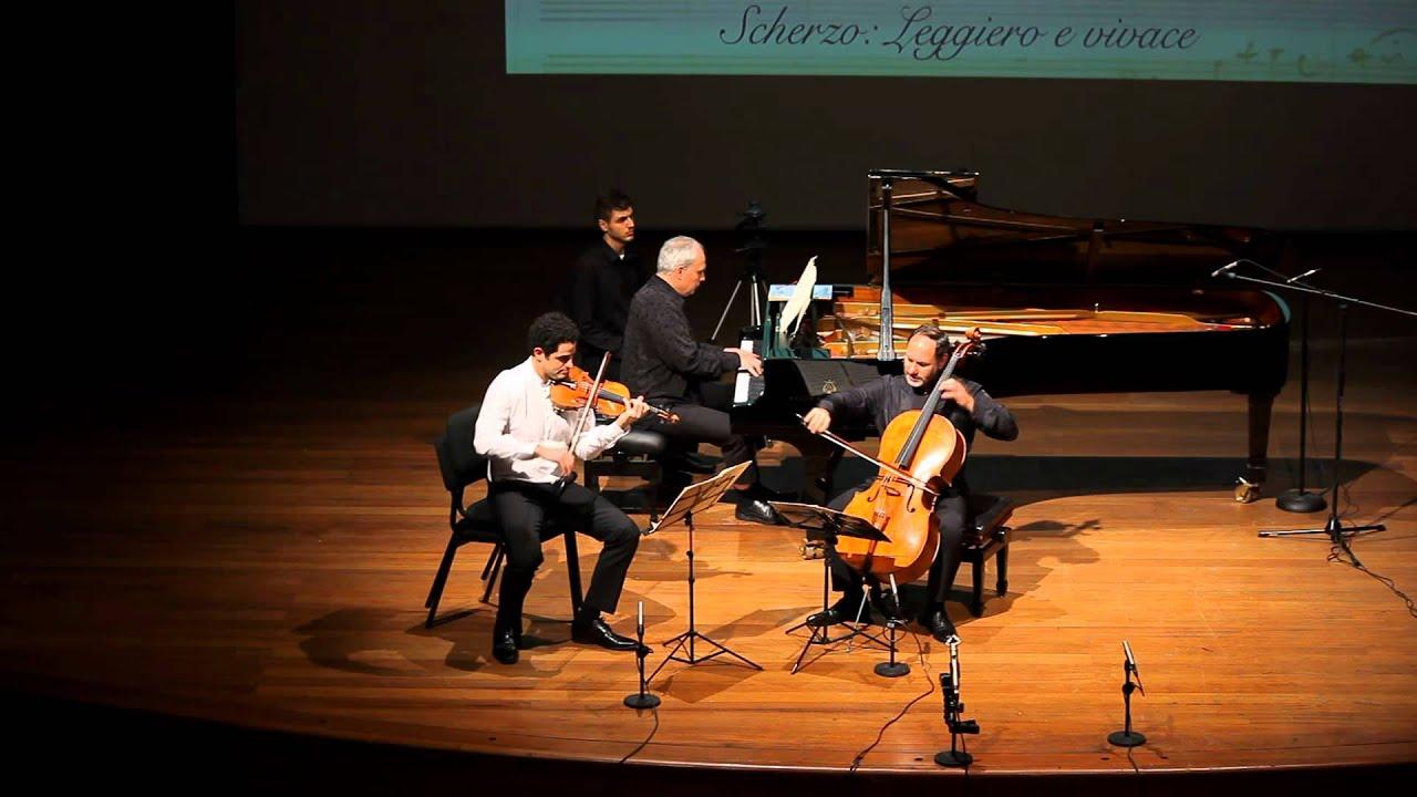 Mendelssohn Trio Op. 49 1/4 Rechtman Sussmann Hoffman