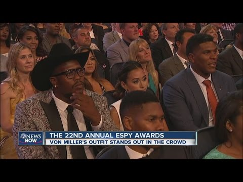 Peyton Manning honored at ESPY awards