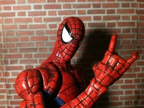 Marvel Legends Icons Spider Man Review - YouTube