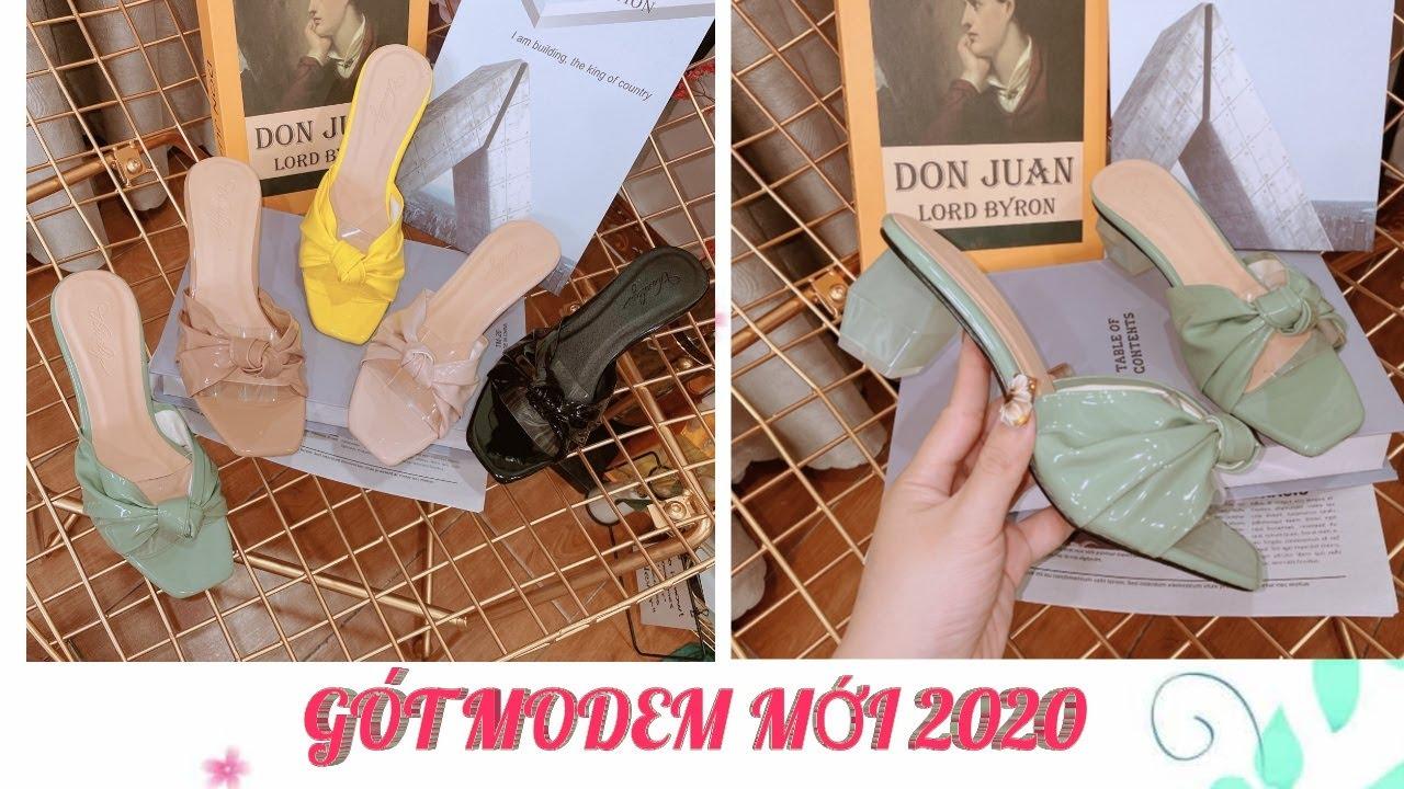 Dép Quai Trong Gót 3p Mới Nhất 2020 |Giày Bata Nữ HB