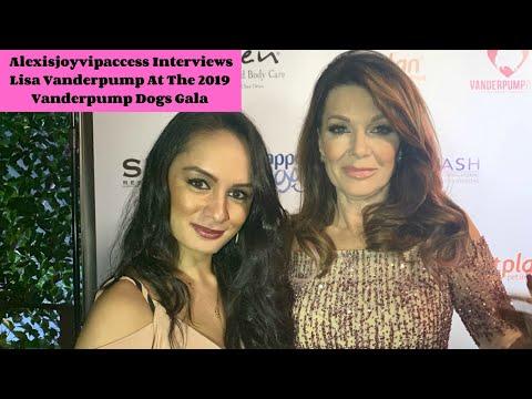 Lisa Vanderpump Interview With Alexisjoyvipaccess At The 2019 Vanderpump Dogs Gala