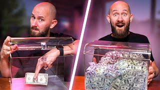 Money Making Box?! 6 Magic Tricks We Found On Wish.com!