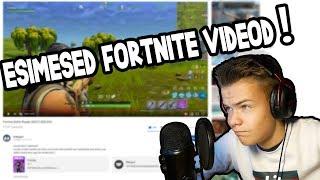 MINU ESIMESED FORTNITE VIDEOD!