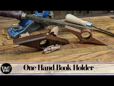 making-a-simple-christmas-gift-one-hand-book-holder.