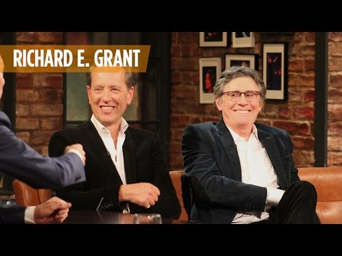 Richard E.Grant on why he choose Gabriel Byrne to play his father | The Late Late Show | RTÉ One