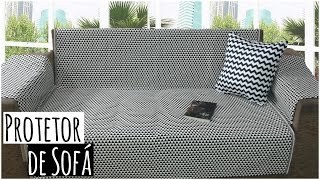 DIY: Protetor de sofá super fácil