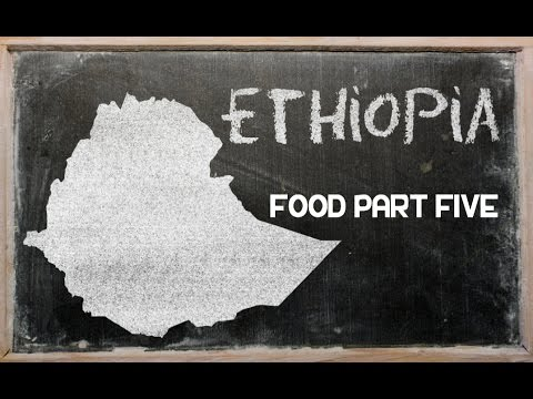 Ethiopian Food An Introduction Part 5 - Herbs & Spice - Ethiopia